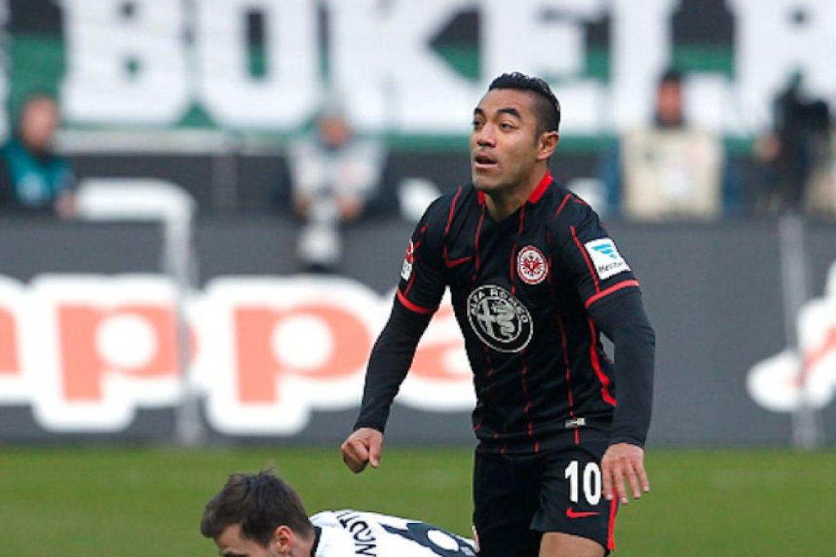 Marco Fabián no ha jugado casi nada desde que Kovac es el técnico del Frankfurt Foto:Getty Images
