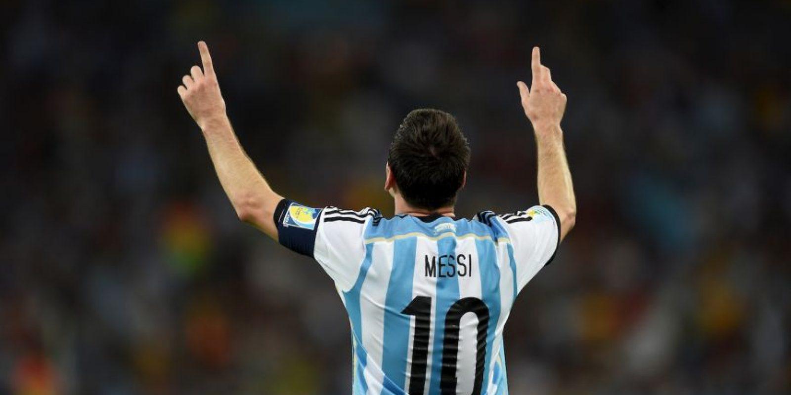 Lionel Messi / Futbolista Foto:Getty Images