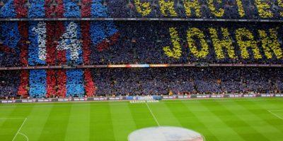 Además del homenaje a Johan Cruyff por parte del Barça. Foto:Hilario Alcayaga