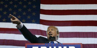 """3. Personas con discapacidad. En campaña, Trump citó un artículo del periódico """"Washington Post"""" escrito Serge F. Kovaleski, un periodista discapacitad. Foto:Getty Images"""