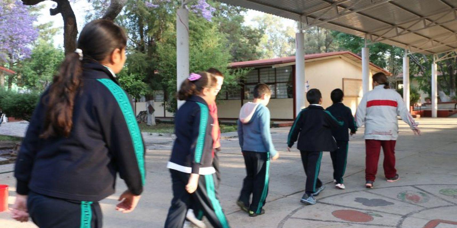 Las actividades al aire libre están permitidas en las escuelas de la Ciudad de México. Foto:Cuartoscuro