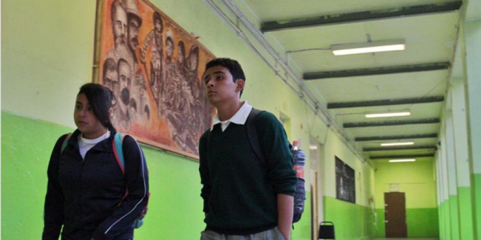 Las actividades al aire libre están permitidas en las escuelas de la Ciudad de México. pasillos Foto:Cuartoscuro