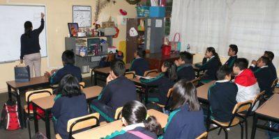 Los profesores arrancaron con las clases, pese a la resaca vacacional. Foto:Cuartoscuro