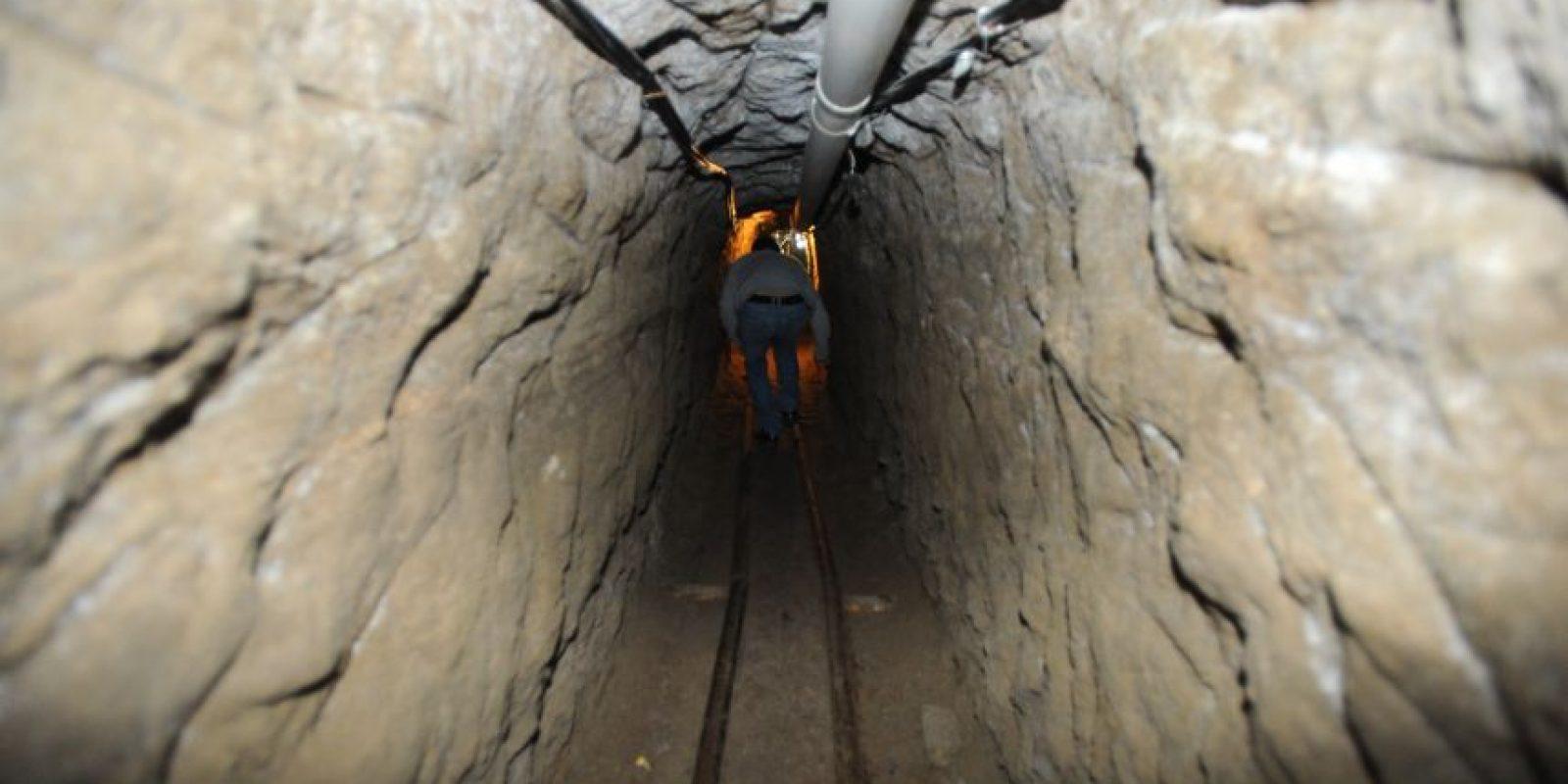 Túnel por donde se fugó Guzmán Loera, el 11 de julio de 2015 Foto:Cuartoscuro/Archivo