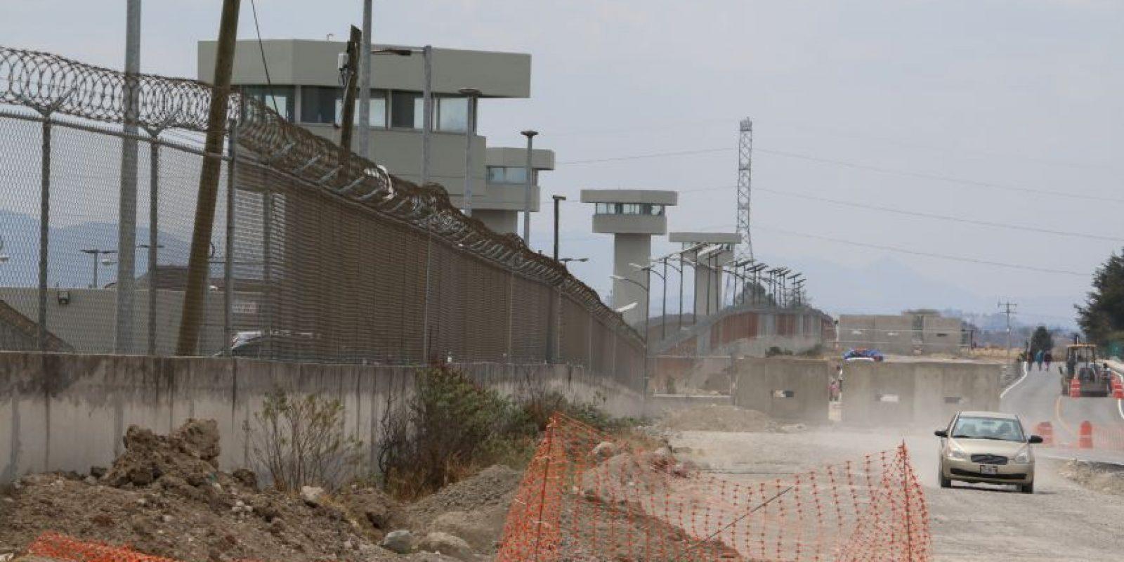 Imagen del exterior de la prisión del Altiplano, en Almoloya de Juárez, en el Estado de México Foto:Cuartoscuro/Archivo