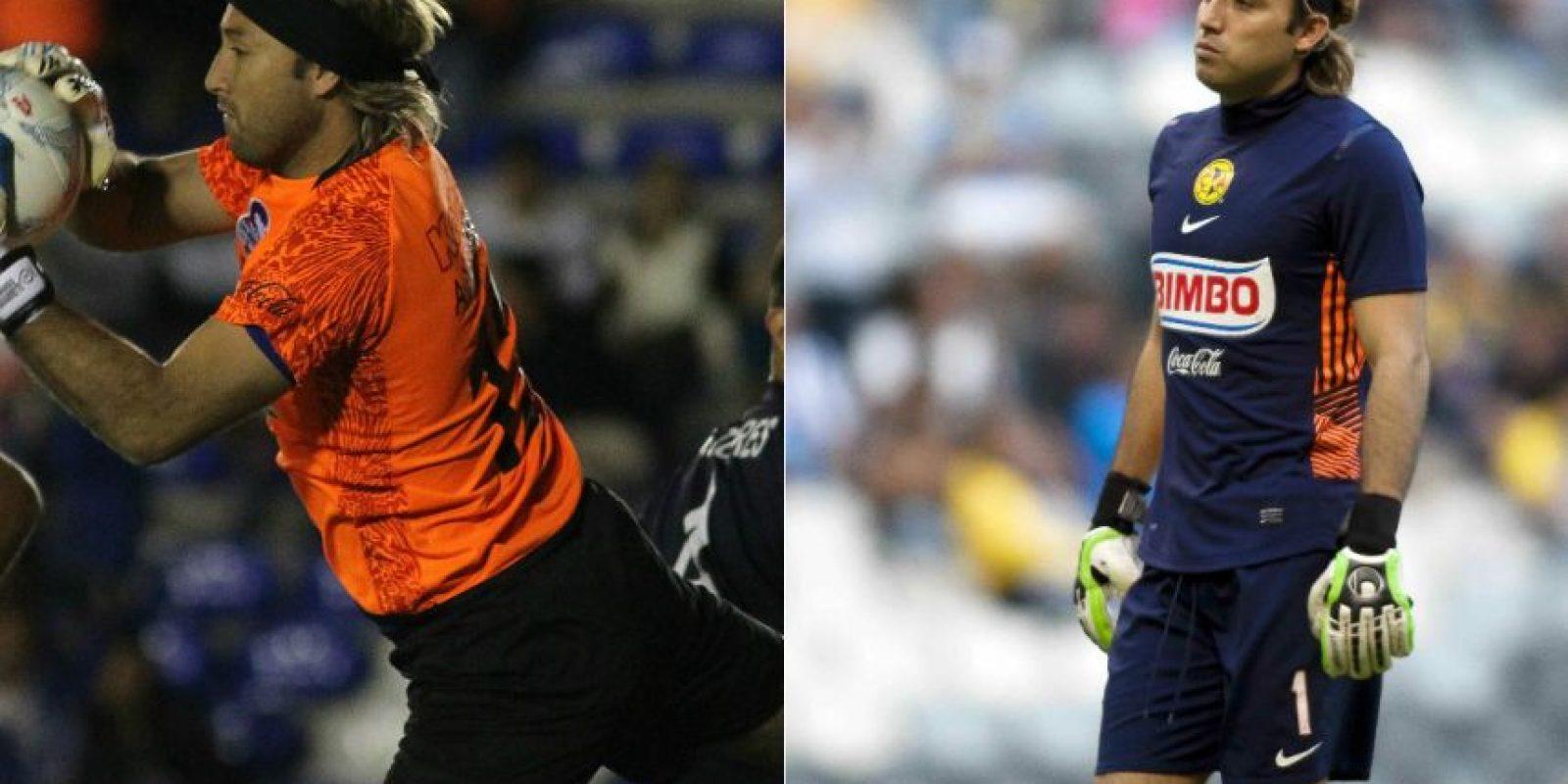 Armando Navarrete nunca pudo afianzarse como portero titular en Primera División. Juega para los Cimarrones. Foto:Mexsport