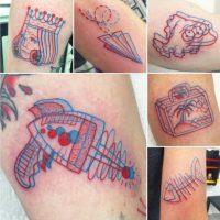 Este talentoso tatuador de Oregon, Estados Unidos, ha creado un nuevo método de tatuajes. Foto:Instagram/winstonthewhale