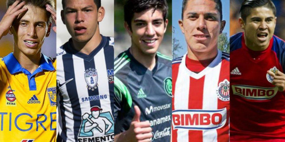 FOTOS: Cinco futuras estrellas del futbol mexicano