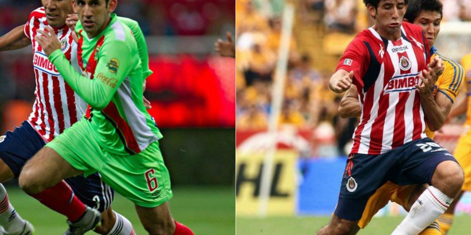 """Edgar Mejía prometía por la banda derecha con Chivas pero no dio el """"estirón"""". Foto:Mexsport"""