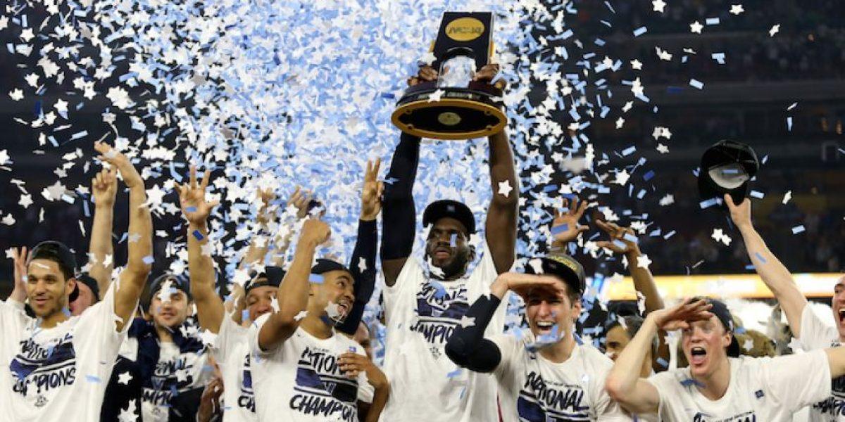 ¡De película! Villanova vence a North Carolina y se corona en la NCAA