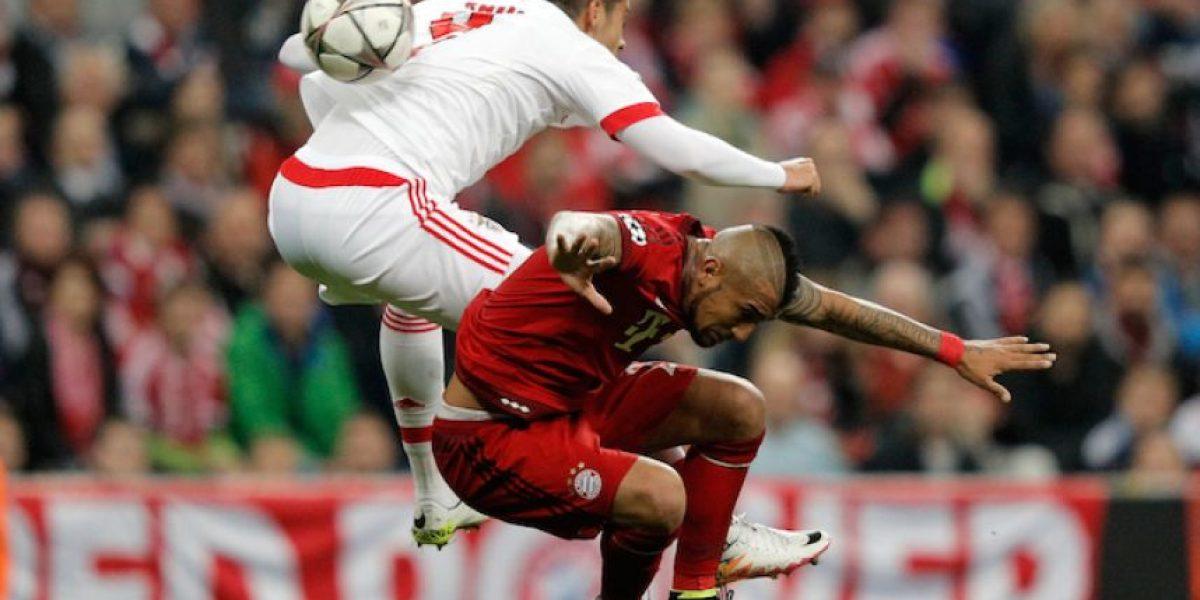 Vidal da la victoria al Bayern sobre Benfica