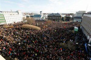 Las cuatro fuerzas políticas de oposición piden la disolución del Parlamento Foto:AP