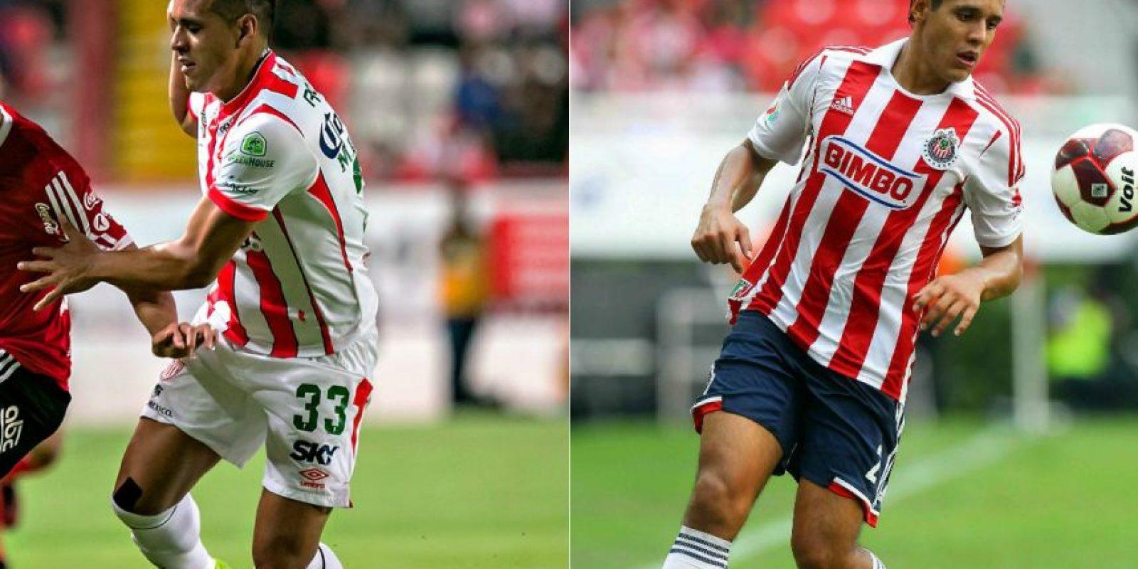 Mario de Luna prometía como defensor central con Chivas pero no pudo con el paquete y ahora juega en el Necaxa. Foto:Mexsport