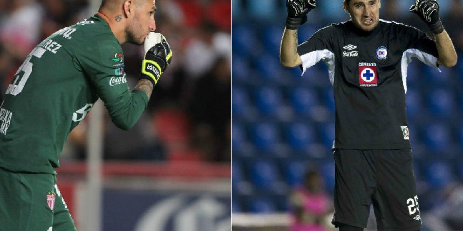 Yosgart Gutiérrez tuvo su oportunidad en Cruz Azul pero fue muy intermitente, incluso fue titular en aquella final que perdió La Máquina ante Toluca en 2009. Ahora es meta del Necaxa. Foto:Mexsport