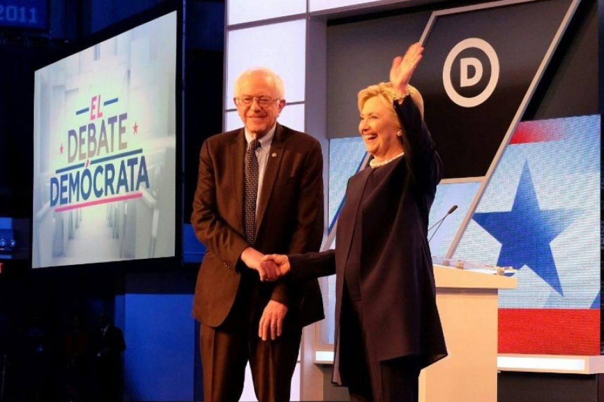Ahora es el opositor de la exprimera dama Hillary Clinton. Foto:AFP