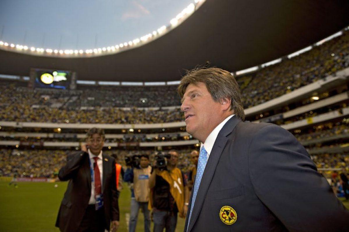 Miguel Herrera convirtió el estadio Azteca en un bastión muy duro y fue en ese escenario donde vivió gratas experiencias de las cuales recordamos algunas pues regresará tres años después, ahora como técnico de Xolos. Foto:Mexsport