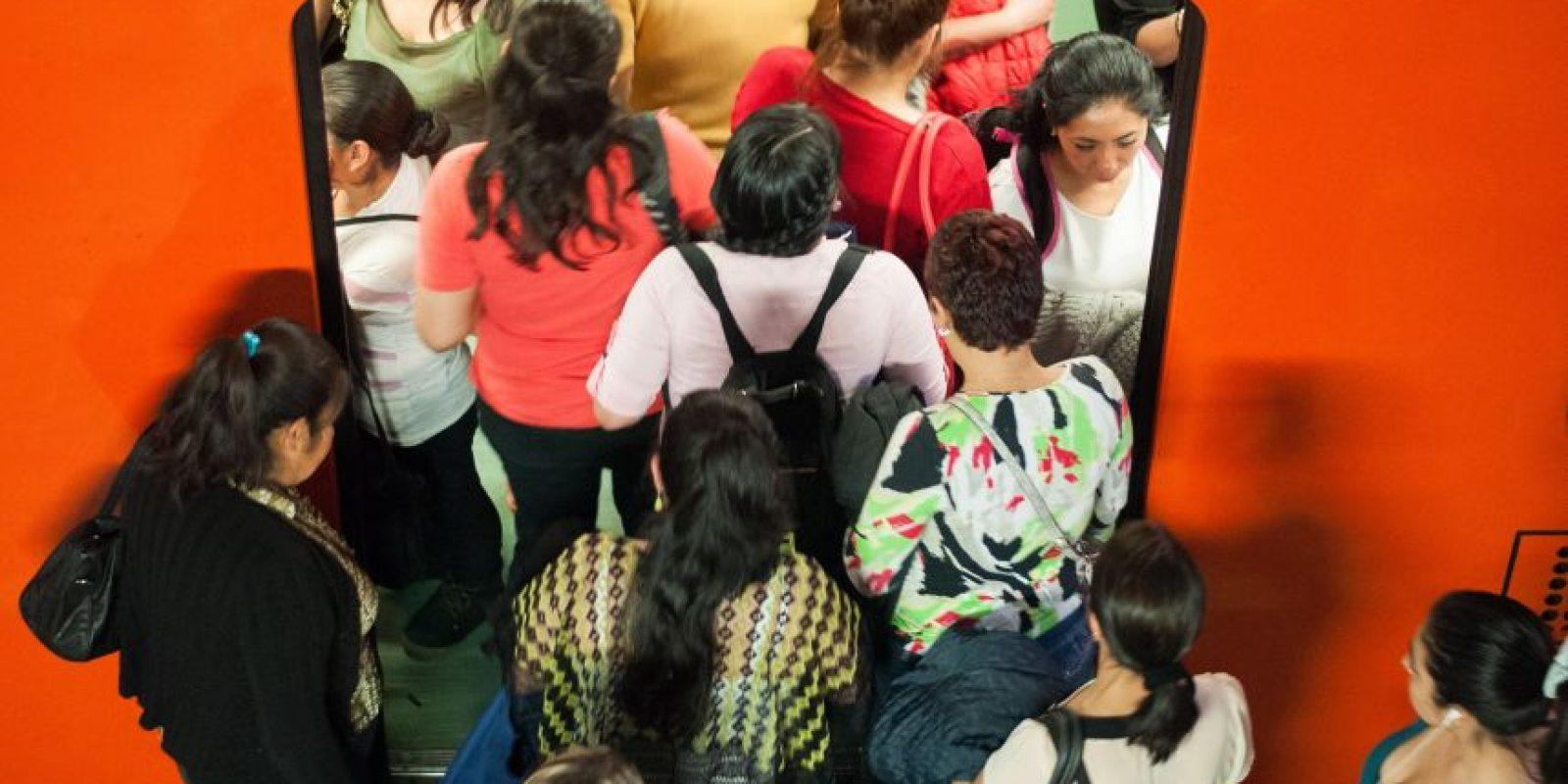 La protesta fue organizada por el Grupo de Información en Reproducción Elegida (GIRE) Foto:cuartoscuro