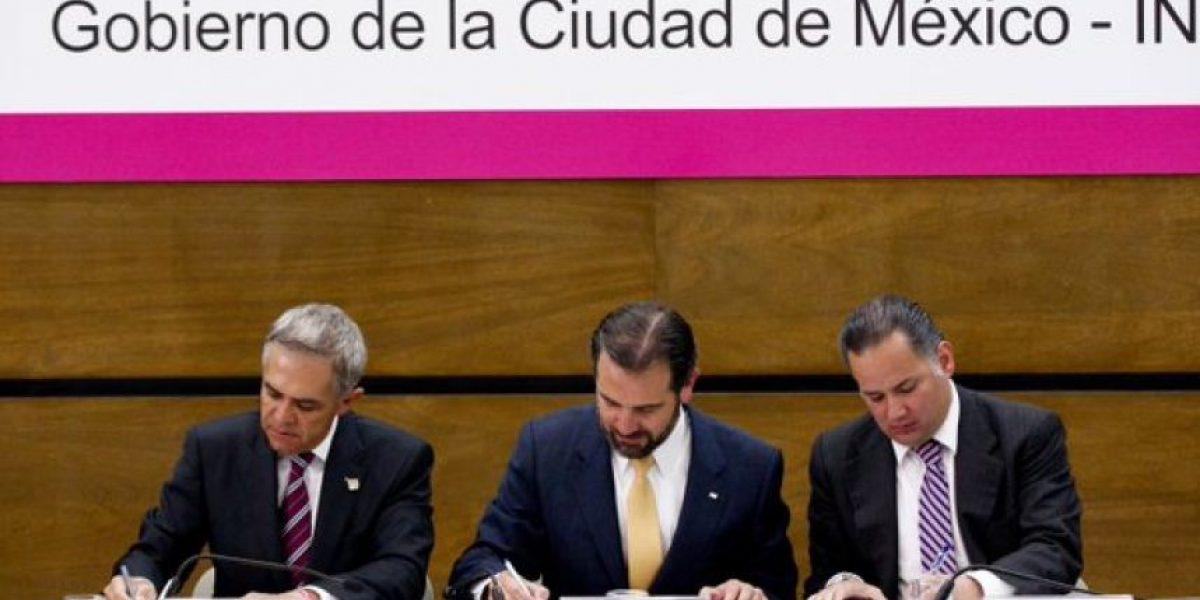 Firman convenio para elección de Asamblea Constituyente