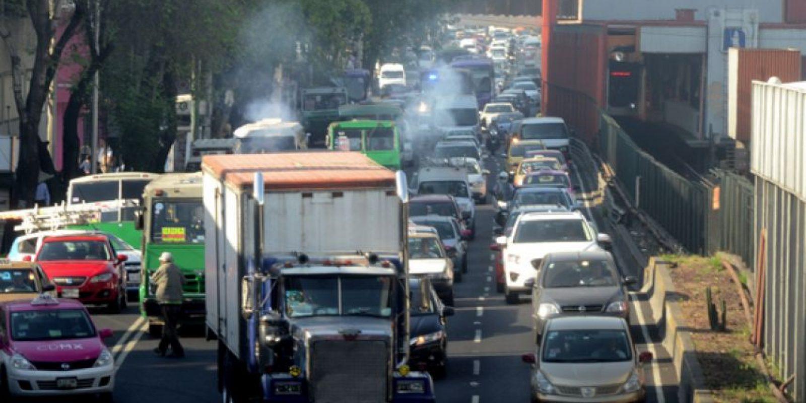 La contaminación se mantiene en niveles dañinos a la salud Foto:Cuartoscuro