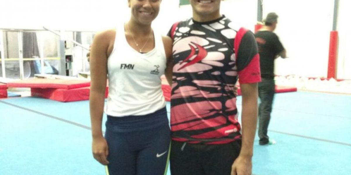 Rodrigo Diego y Melany Hernández; por gran debut en Olímpicos