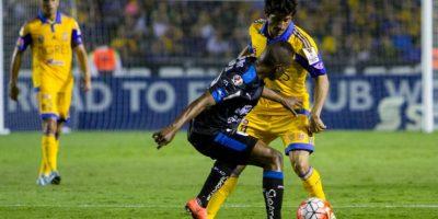 Damián Álvarez entró de cambio en los últimos minutos. Foto:Mexsport