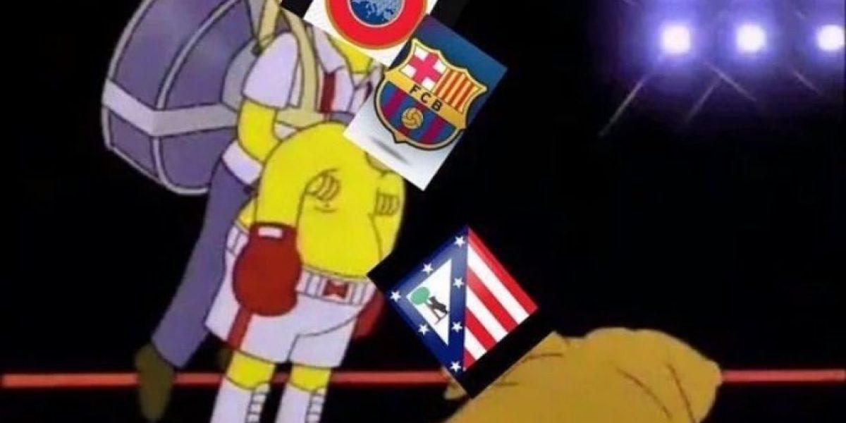 Los memes del duelo entre Barcelona y Atlético de Madrid
