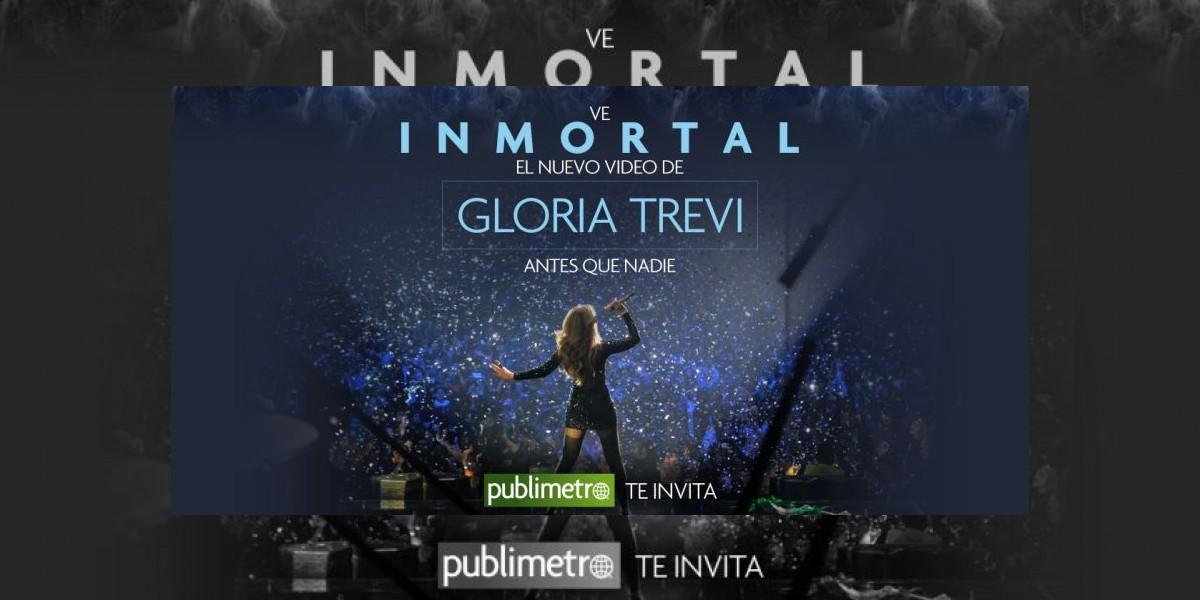 Publimetro te invita a ver el nuevo video de Gloria Trevi