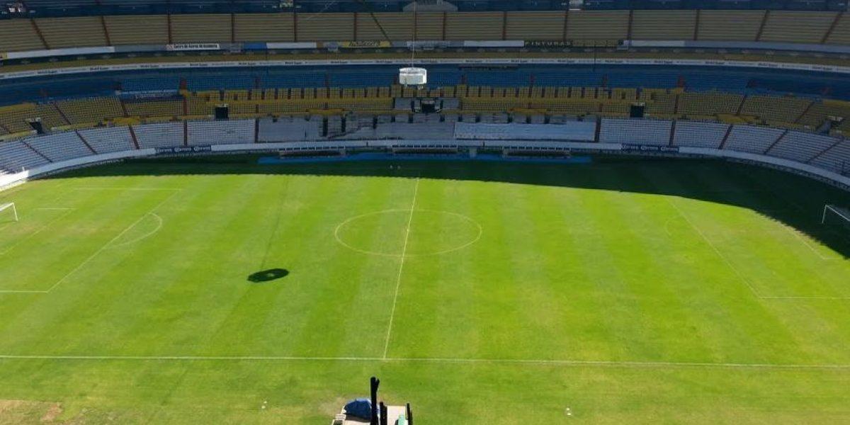 El Estadio Jalisco comenzó con su remodelación