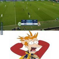 Los memes más divertidos de la derrota del Real Madrid Foto:Twitter
