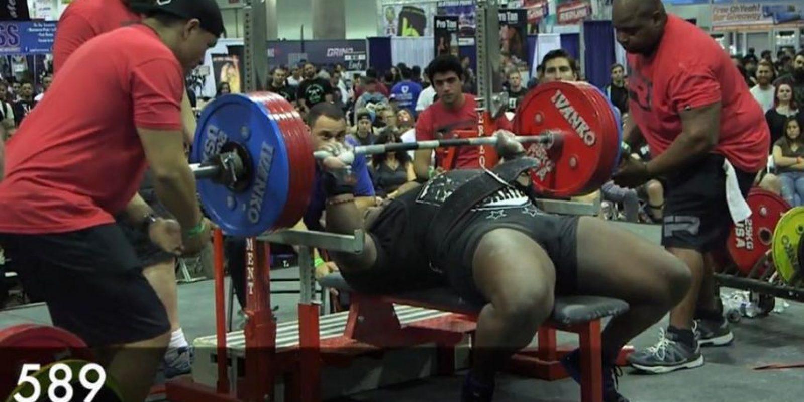 """Es conocido como """"La Bestia"""" por su poder físico Foto:Vía instagram.com/davidthebeastdouglas"""