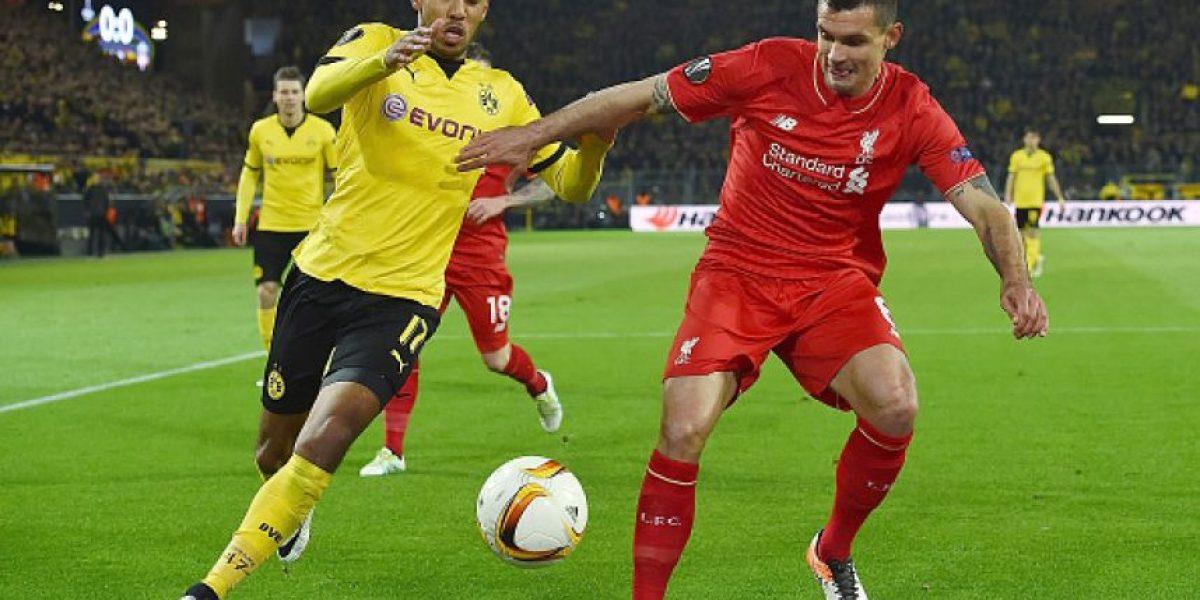 Borussia Dortmund y Liverpool empatan en la ida de los cuartos de la Europa League
