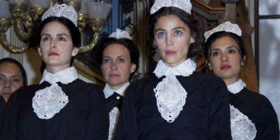La serie es la apuesta de Televisa para lanzar su plataforma de streaming. Foto:Agencia JDS