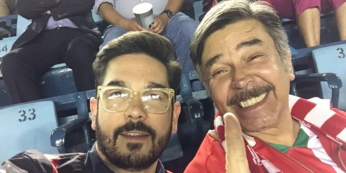 Aficionados del Cruz Azul golpean a Jorge Ortiz de Pinedo y su hijo