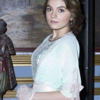 Sofía Castro interpreta el papel de Eugenia Ballesteros. Foto:Agencia JDS