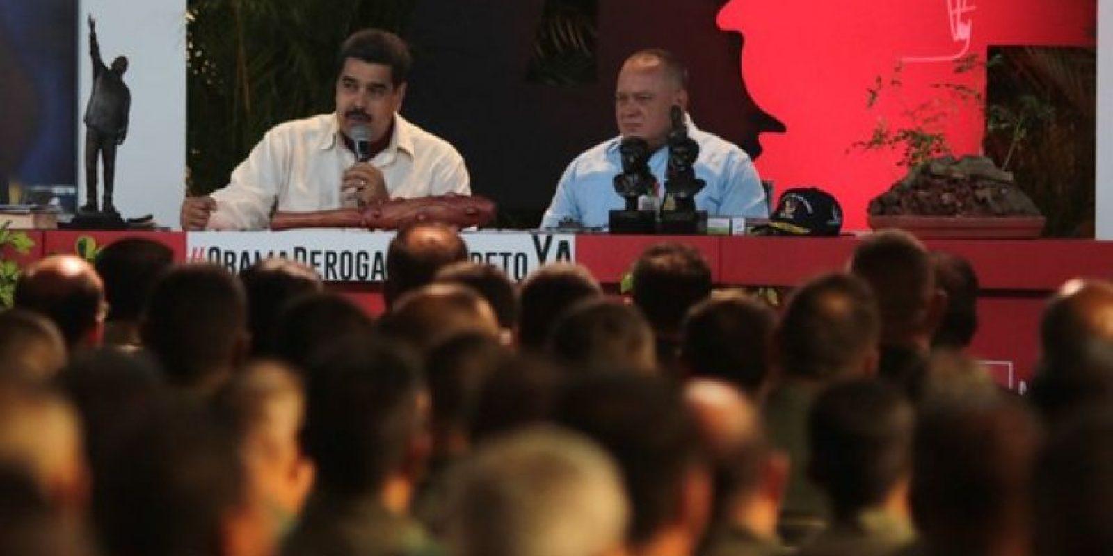 El pasado 6 de diciembre, la oposición ganó las elecciones parlamentarias Foto:twitter.com/NicolasMaduro