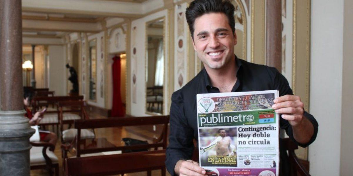 David Bustamante, dispuesto a enamorar con su música a los mexicanos