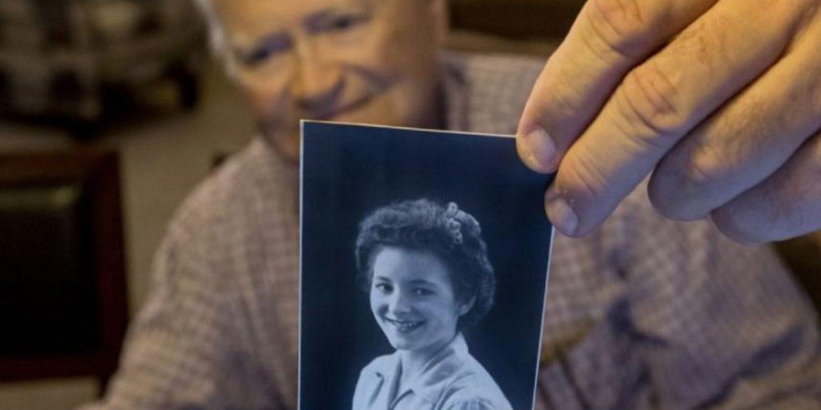 Norwood Thomas conoció en Inglaterra a Joyce Morris, durante la Segunda Guerra Mundial. Foto:AP