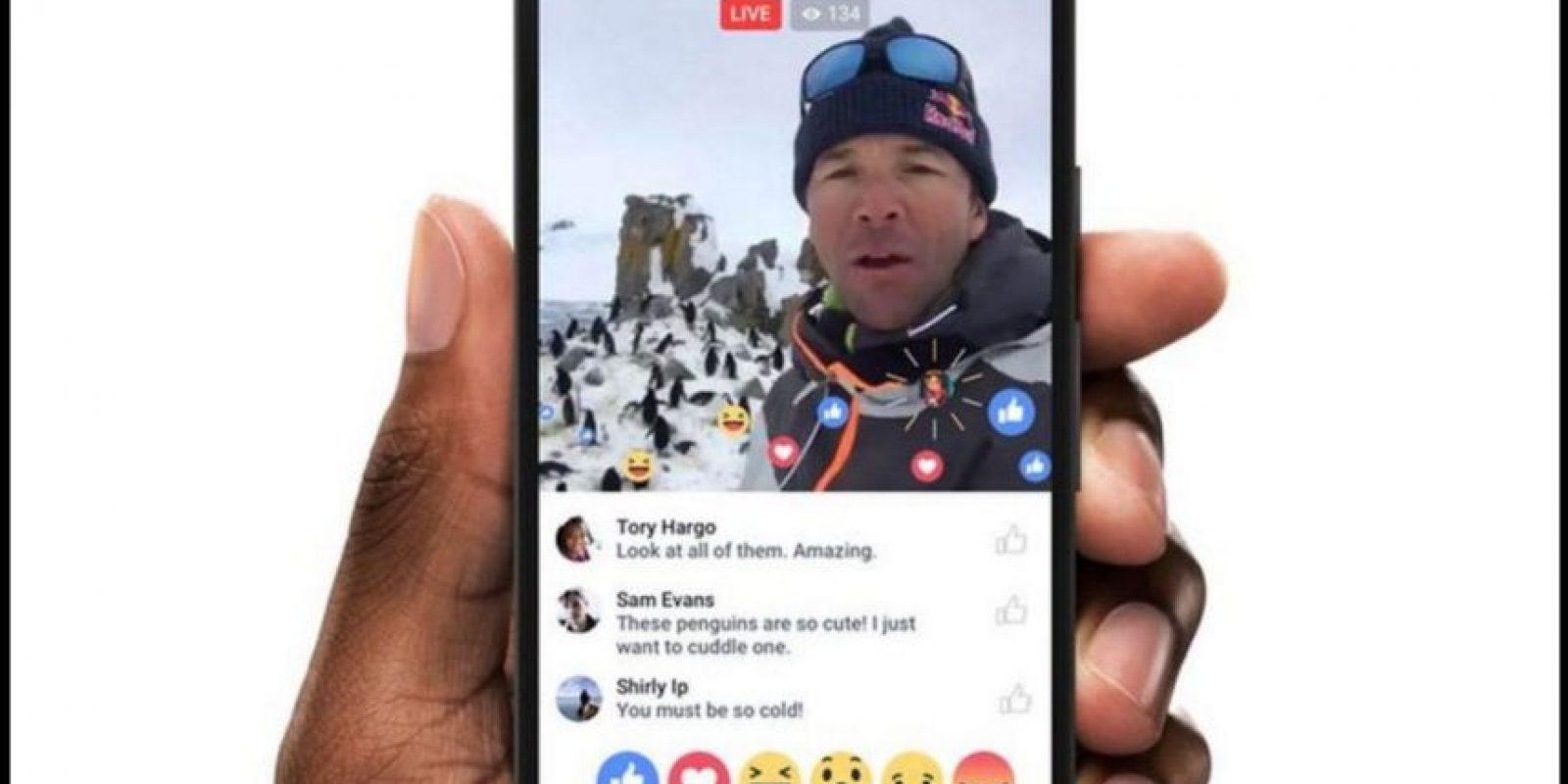 En un principio, Facebook Live sólo se encontraba disponible para famosos. Foto:Facebook