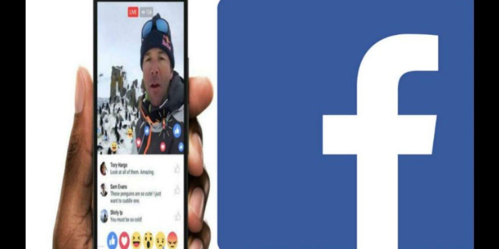 Hoy se lanzará la nueva versión de Facebook Live. Foto:Facebook/Facebook Live