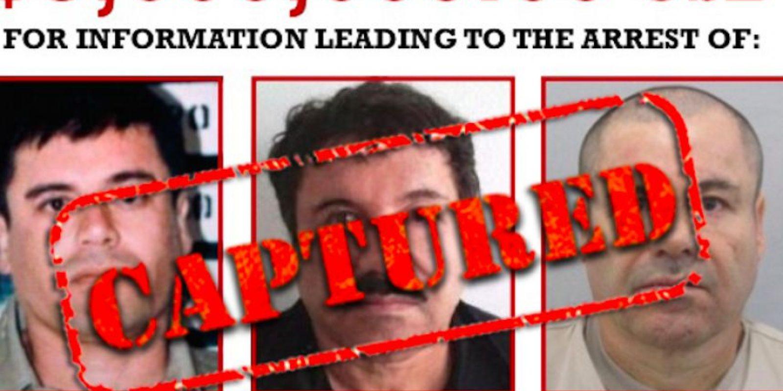 """""""El Chapo Guzmán"""" era el criminal más buscado por la DEA Foto:DEA"""
