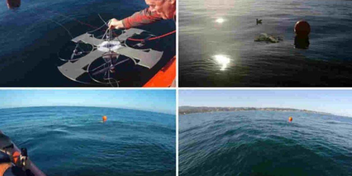 Este drone puede despegar y aterrizar en el agua