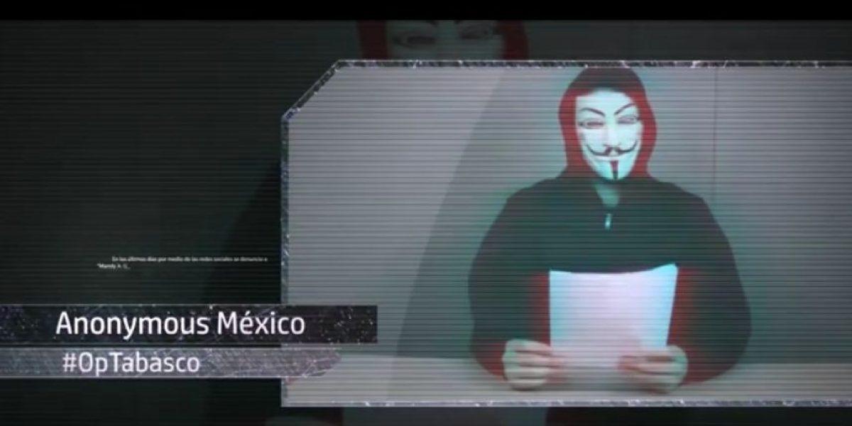 Anonymus México filtrará datos de pederasta de Tabasco