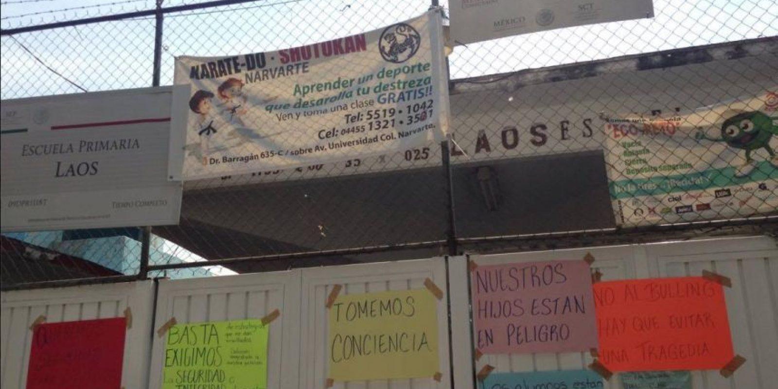 Los padres advirtieron que si este viernes no se ha removido al alumno con problemas de conducta, impedirán de nuevo el acceso a sus hijos. Foto:Nicolás Corte/Publimetro