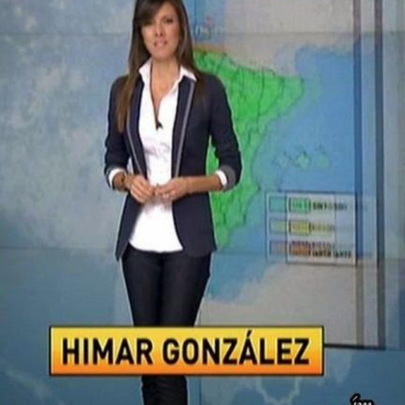 Su incursión en el mundo del periodismo fue por casualidad Foto:Vía facebook.com/himar.gonzalez