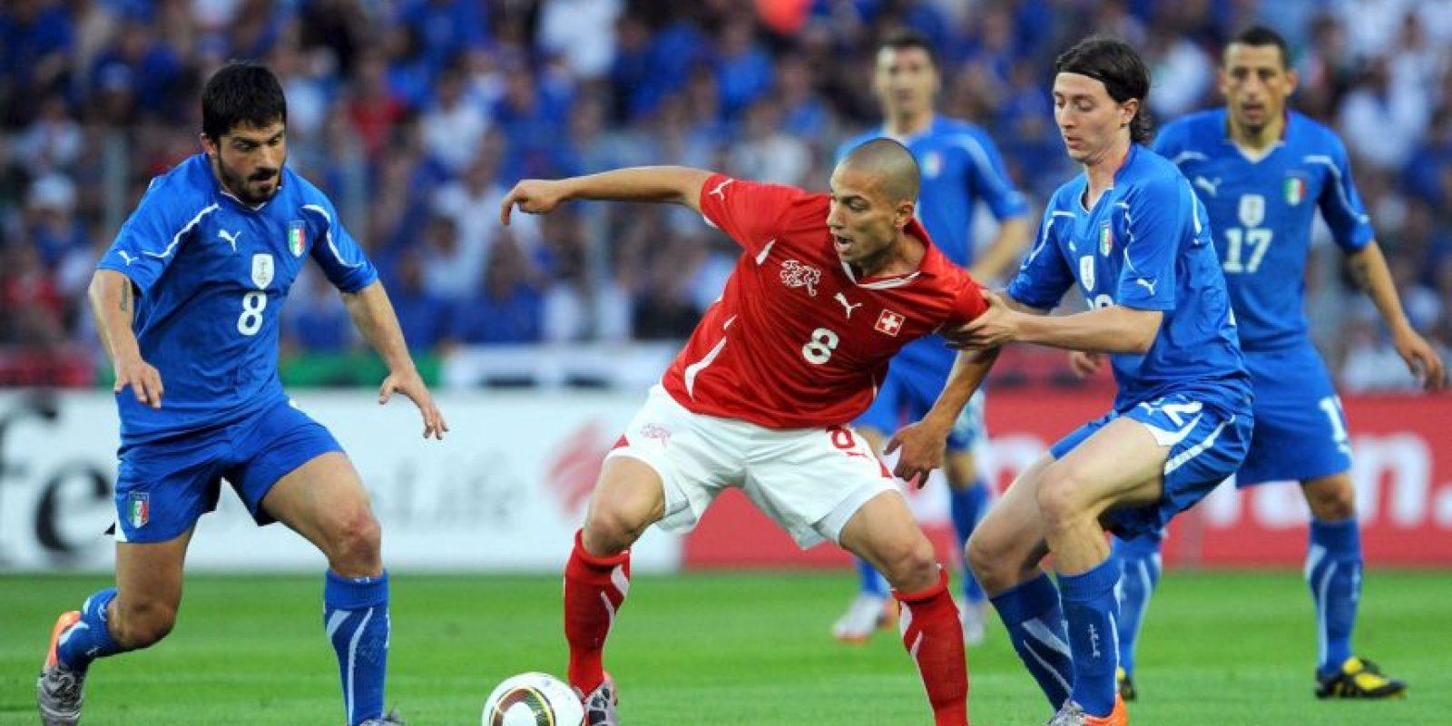 Jugó tres Mundiales con la Selección de Italia Foto:Getty Images