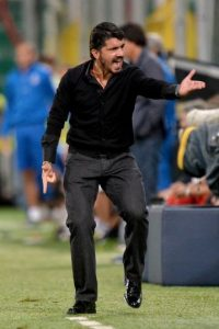 Gennaro Gattuso no pierde el temperamento Foto: Getty Images
