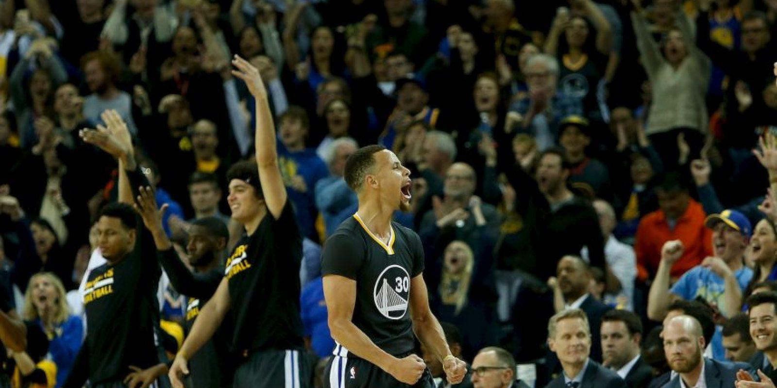 Stephen Curry es el actual MVP de la NBA Foto:Getty Images