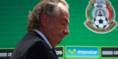 Decio de María, presidente de la Femexfut Foto:Getty Images