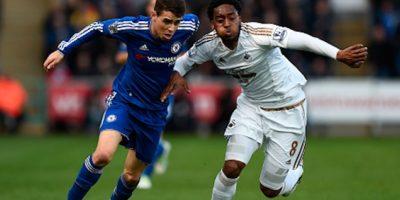 """Los """"Blues"""" no tuvieron suerte en su visita al Swansea City Foto:Getty Images"""