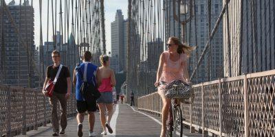 6. Cuando se hace un uso regular de la bicicleta, se obtienen mayores ventajas para la salud que si solo se practica deporte los fines de semana Foto:Getty Images
